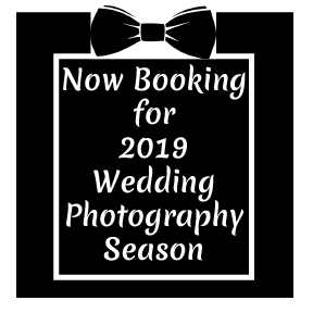 now booking wedding photographer